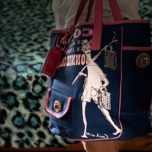 Coach cloth bag